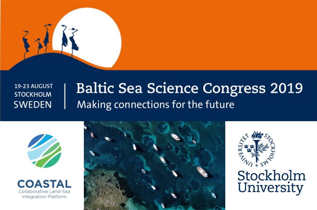Baltic Sea Science Congress in Stockholm, 19-23 August 2019