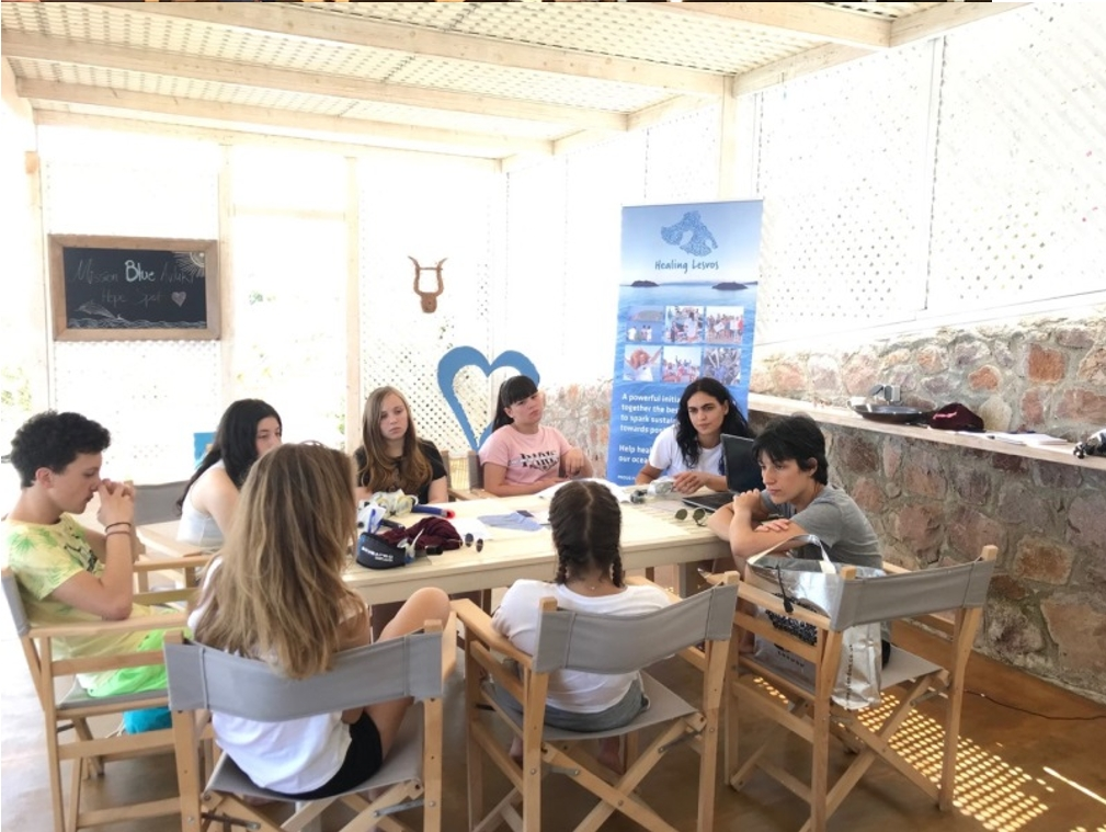 COASTAL project presented during Ocean day in Lesvos, Greece