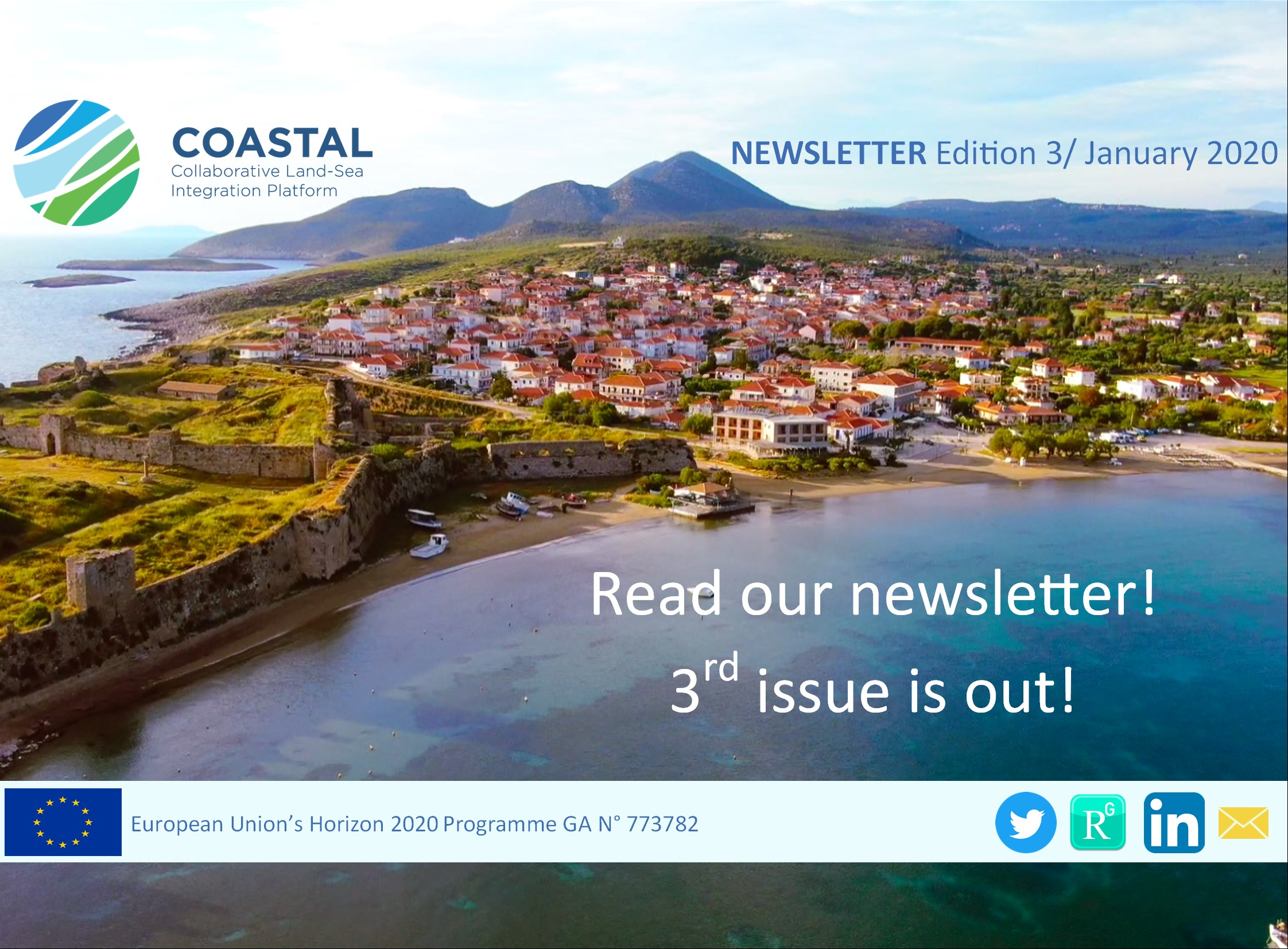 COASTAL's 3rd Newsletter is out!
